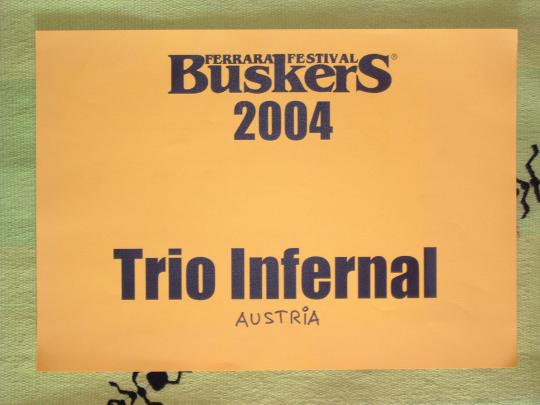 Trio Infernal at FBF 2004